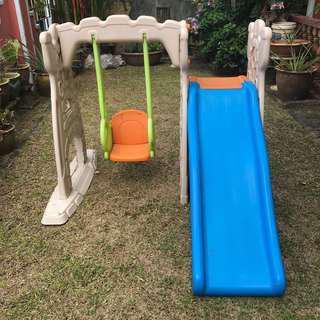 GROW'N UP - Scramble N Slide Play Center