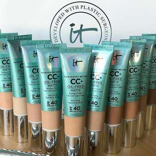 IT COSMETICS Your Skin But Better CC+ Oil Free Matte
