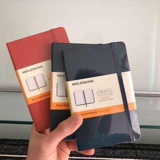 Moleskine Classic Ruled Notebook Hard Cover