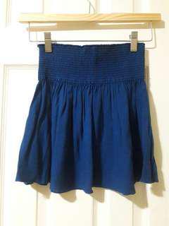 Aritzia Talula Royal Blue Mini Skirt