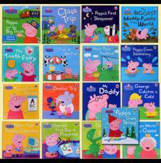 Lot of 16 New Peppa Pig Story Books