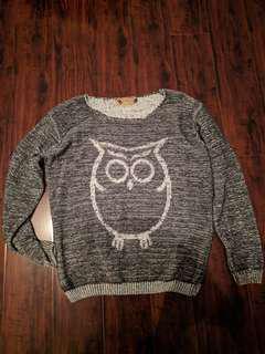 Brand New! Owl sweater