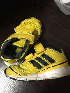 Kids Toddler Adidas Yellow Sport Shoes