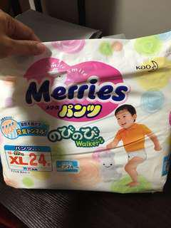 Merries Baby Toddler Diapers Pampers