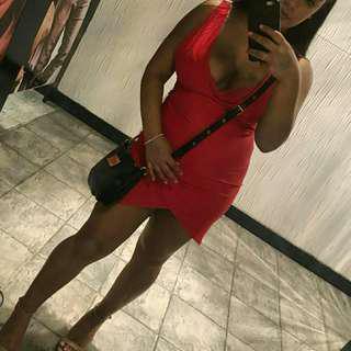 Fashion Nova Red Mini Dress