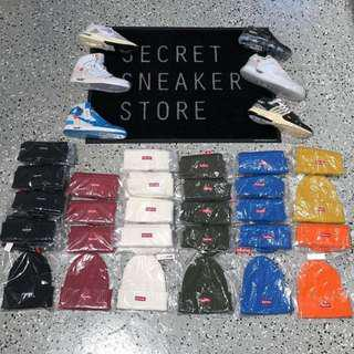 SUPREME BEANIE RIBBED NIKE OFF WHITE JORDAN VAPORMAX AIR MAX
