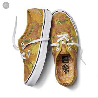 LOOKING FOR Vans x Van Gogh Sunflower