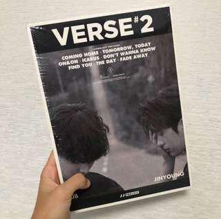 🗻[wts / got7] jj project verse 2 instock sealed album
