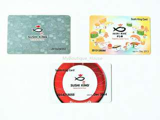 #Jan55 🍣Sushi King Card