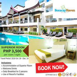 Boracay Haven Resort Room Accommodation