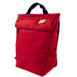 Almost NEW H.M.F. (Heart Made Factory) backpack in RED