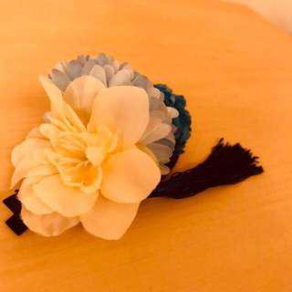 🚚 日系和服少女髮夾