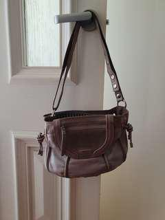 Dusty rose mimco bag