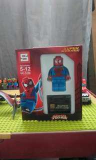 LEGO-like Spiderman Big Minifigure