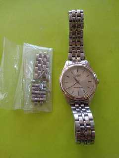 casio quartz watch metal authentic