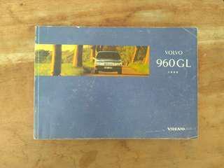 Manual book Volvo 960