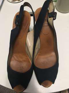 Authentic Christian Louboutin Size 7 Wedges