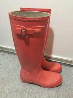 Hunter Rubber Boots - Size 7