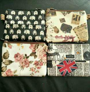 Taiwan Coin and Tissue Pouch