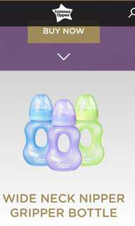 Tommee Tippee Nipper Gripper Bottle