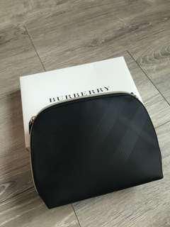 Burberry cosmetic bag