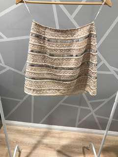 Forever New Embellished a line skirt