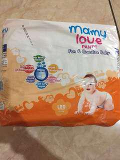 Pampers Mamy Love Pants L20