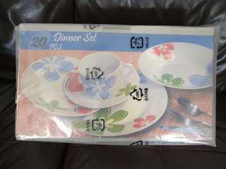 BN Glass Dinner Set 20pcs