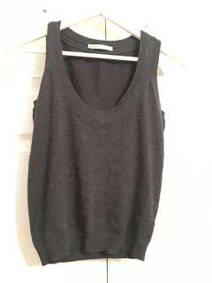 Sweater vest black and one in grey