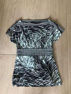 BCBG patterned top