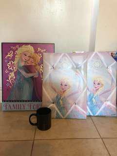 Disney frozen wall art