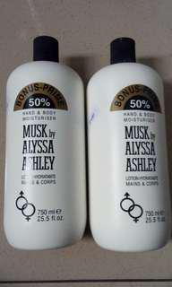 Alyssa Ashley Lotion