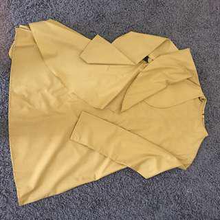 Drapped tunic