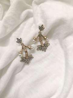 🚚 復古寶石耳環