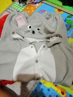 Mouse costume romper