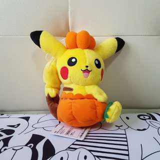 Authentic Halloween Pikachu Plush Toy Japan