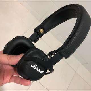 Marshall MID Bluetooth Headphones - mint condition