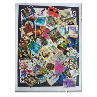 Great Britain all big 50 pcs stamps BM29