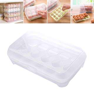 New 15pcs Eggs Covered Container