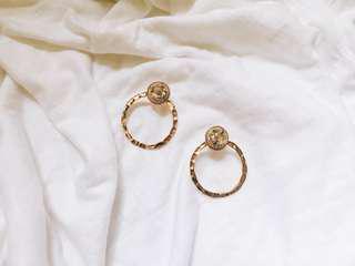 🚚 碎片幾何耳環