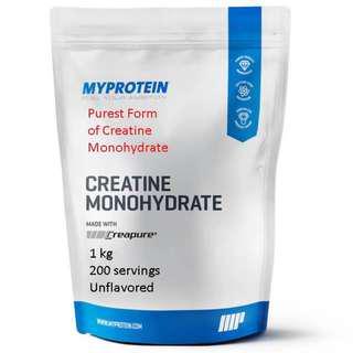 1kg Creapure ® Creatine Protein Myprotein [ Listed : Sept 2018 ]