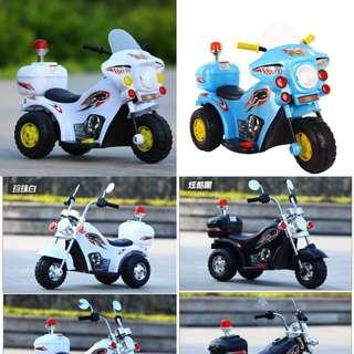🚚 Police ride on electric bike