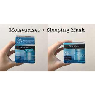 Neutrogena Hydro Boost Water Gel & 3D Sleeping Mask