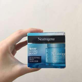 NEW Neutrogena Hydro Boost 3D Sleeping Mask