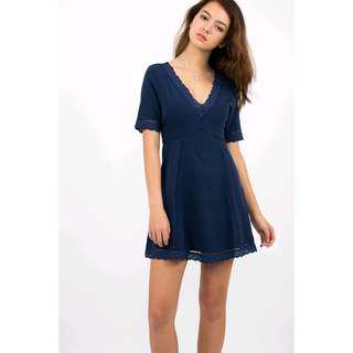 Justforher Bianca Boho A-line dress