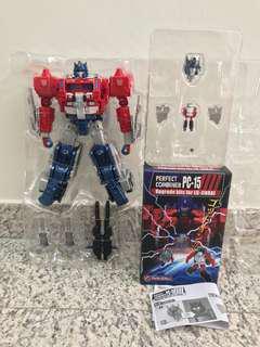Transformers Titans Return Magnus Prime and PC-15