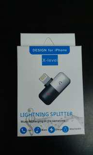 X-Level double lightning hub  for Apple iphones 5 & above.