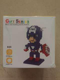 Nano Sized Captain America LEGO