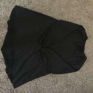 Black tunic