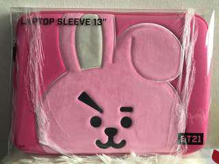 BT21 Cooky Laptop case 13 inches